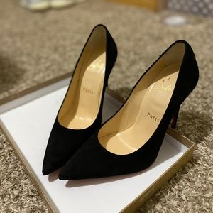 Alminette Louboutins Black (Brand New)